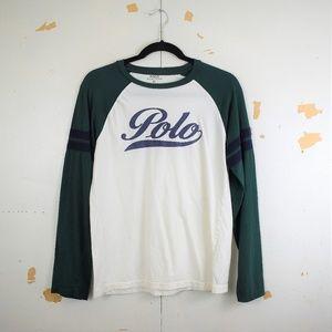 Polo Ralph Lauren Boys Classic Fit Raglan T-Shirt